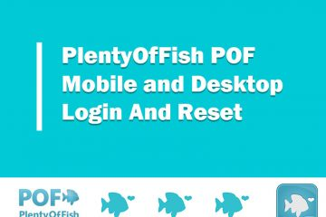 POF login and reset from mobile and desktop